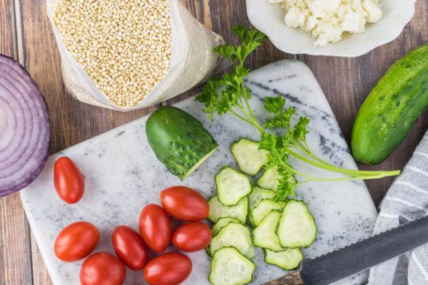 mediterranea quinoa salad