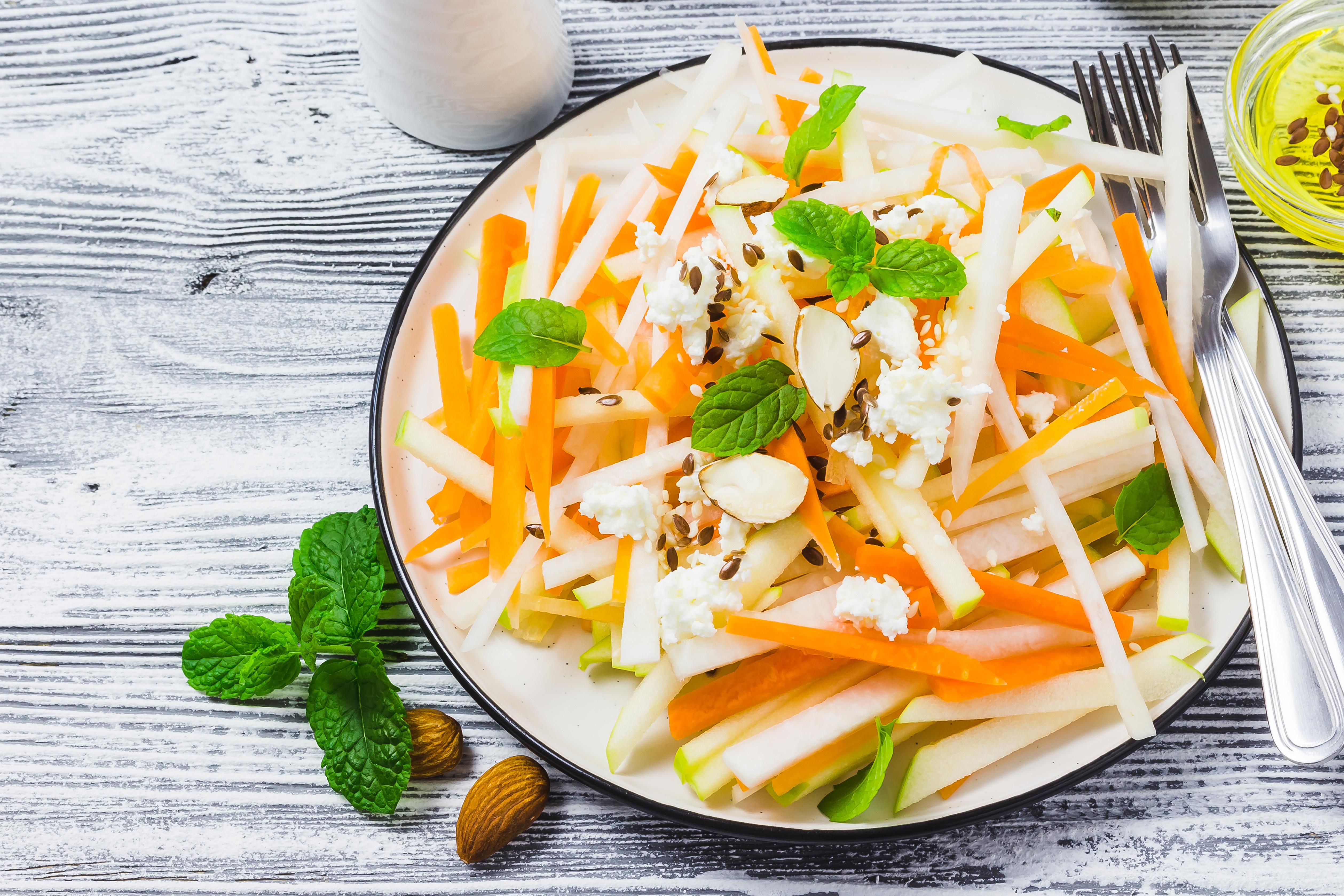 Asian Slaw Salad with Sesame Vinaigrette